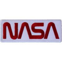 NASA - LOGO -  IRON or SEW ON PATCH