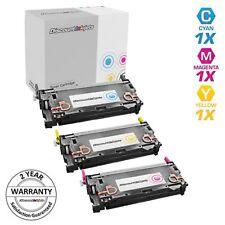 Reman Toner for HP 502A Cartridge Set Cyan Magenta Yellow 3pk LaserJet 3600n