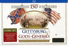 Gettysburg / Gods and Generals [New Blu-ray] Ltd Ed, With Book, Director's Cut