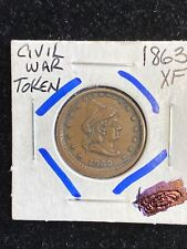 1863 Liberty Our Army Patriotic Civil War Token 90 Degree Rotated Rev.