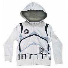 Sweats et vestes à capuche blancs pour garçon de 2 à 16 ans en 100% coton