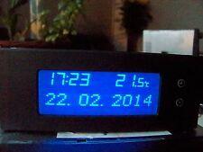 Astra g Pantalla LED Azul información de triple