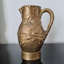 VIBERT Alexandre (1857-1909) Pichet Vase en Bronze 1900 Cachet Fondeur Jollet