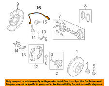 Infiniti NISSAN OEM 09-13 G37 ABS Anti-lock Brakes-Rear Speed Sensor 47900EG000