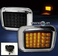 2003-2009 HUMMER H2 SUT SUV LED CORNER SIGNAL PARKING LIGHT SMOKE LENS 2007 2008