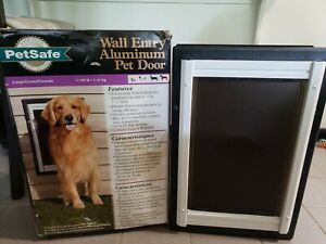Petsafe Wall Entry Aluminum Pet Door - Large - For Dogs up to 100 lb