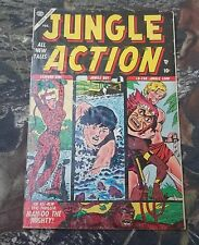 Jungle Action #3 Atlas Comics (soon to be Marvel) Feb 1955 Very Rare Book CS
