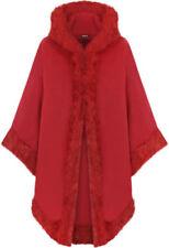 Cappotti e giacche da donna rosso da esterno con bottone