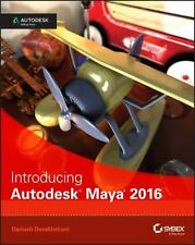 Introducing Autodesk Maya 2016: Autodesk Official Press: By Derakhshani, Dariush
