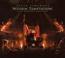 "WITHIN TEMPTATION ""BLACK SYMPHONY"" 2 CD NEW+"