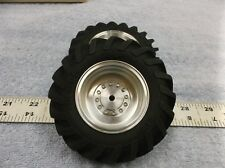 1/16 scale Custom aluminum tractor rims for the CO-OP tires