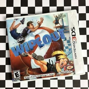 ABC TV Show Series Wipeout Nintendo 3DS 2011 Obstacle Course Activision C14-23