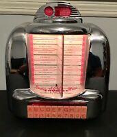 Crosley Select O Matic 100 Juke Box Radio, Cassette Player, Diner Table Top