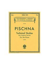 Johann Pischna Technical Studies Learn to Play Piano MUSIC BOOK STUDY PIECES
