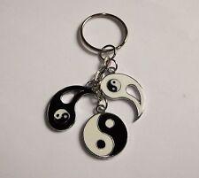 YIN YANG Inspired Character Multi-Charm KEYRING Key Ring Chain