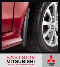 GENUINE MITSUBISHI ASX FRONT SET OF 2 MUDFLAPS MZ380657EX