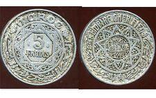 MAROC 5 francs 1370 -1950 -