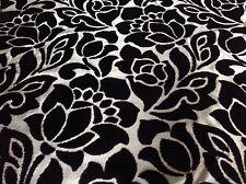 Clarke & Clarke- Damask Cut Velvet Fabric- Florentine/Purple (F0317/4) 2.80 yds
