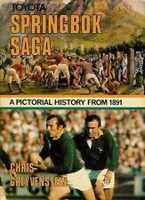 """Springbok SAGA"" di Chris greyvenstein RUGBY BOOK FIRMATO 41 EX Springboks"