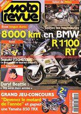 MOTO REVUE 3209 BMW R1100 RT R 1100 SUZUKI GSX-R 750 YAMAHA GTS Erik JÖNSSON