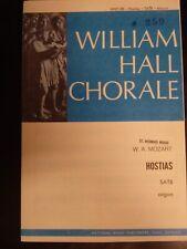 """Church Choral Sheet Music-Mozart's """"Hostias� (arr. Dawson) Satb 20 Copies"""