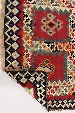 en exclusivité nomades PICASSO Kelim pièce unique PERSAN TAPIS tapis d'Orient