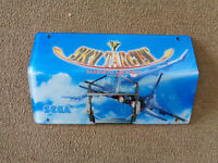 """16.5 BY 10"""""""" SKY TARGET SEGA  PELXI MARQUEE SIGN ARCADE GAME PART of66"""