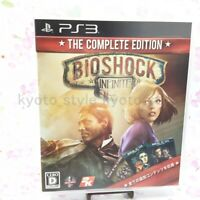 USED PS3 PlayStation 3 Bioshock Infinite Complete Edition 73419 JAPAN IMPORT