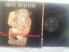 IRON MAIDEN/B. Dickinson Tattooed Millionaire UK 12 inch VINILE MAXI POSTER 90 SL
