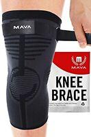Sport Knee Sleeve Compression Brace Support Arthritis Joint Pain Relief - XXXL