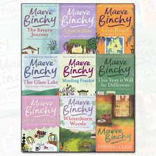 Maeve Binchy Collection 9 Books Set The Return Journey, Quentins, Evening Class