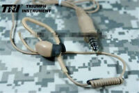 US Stock TRI Headset Inviso M3 Earphone In Ear For PRC 148 152 MBITR TEA Peltor