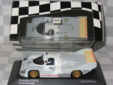 1:43 MINICHAMPS PORSCHE 956 K 1982 LTD ED 400 826700 TEST CAR  PAUL RICARD