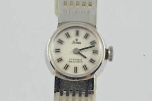 Stowa Hand Wound Women's Watch 15MM Steel Vintage Nice Condition