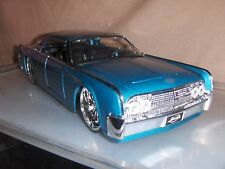 Toy Diecast Car Jada / Dub 1:24 1963  Blue  Lincoln Continental
