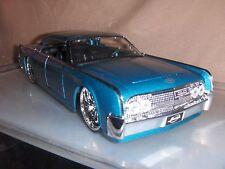 Toy Diecast Car Jada / Dub 1:24 1963  Blue  Lincoln Continental