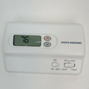 White Rodgers Non- Programmable thermostat 1F89-211 2 Heat/1Cool Stages