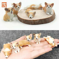Xmmos Corgi Set of 5 Dog Animal Figure