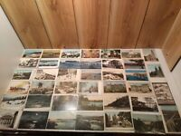 Antique/vintage postcards LOT of 66 Province of Quebec 33 unused many early 1900