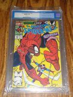 Amazing Spider-Man #345 Marvel Comics CGC 9.8 White Pages Venom App