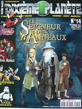 Magazine (très bel état) - Dixième planète 14 (spécial Le seigneur des anneaux)