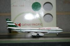 Blue Box/BBOX 1:400 Cathay Pacific Boeing 747-400 ZK-NBS Die-Cast Model Plane