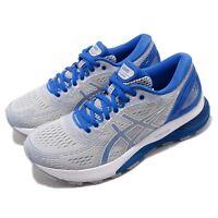 Asics Gel Nimbus 21 Lite Show Grey Blue Women Running Shoes Sneaker 1012A189-020