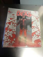 Walking Dead trading card binder (comic set 2). Factory sealed with promo inside