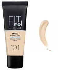 MAYBELLINE New York Fit me! Matte & Poreless Make-up (101 True Ivory) 30ml OVP
