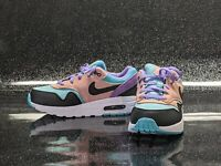 Nike Air Max 1 NK Size 2 Youth 2Y PS Have A Nike Day Black Purple BQ7213-001