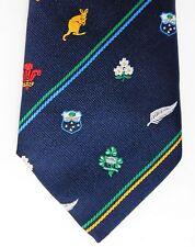 Rugby Union Cravate Australie Romania Tonga France NZ Japon Samoa ITALIE ARGENTINE