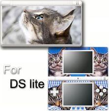 Cat Cute Pets VINYL SKIN STICKER for NINTENDO DS LITE 1