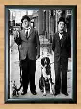 Laurel and Hardy Comedy Signed Autographed A4 Poster Print Photo Photograph TV 2