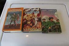 H Harrison Adventures Of The Stainless Steel Rat,Joins Circus,Get Drafted 3 Book